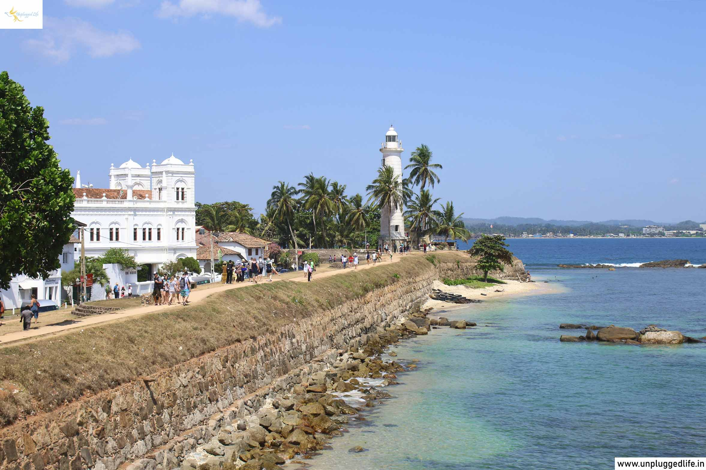 Galle Fort, Sri Lanka, Unplugged Life, Indian Ocean, Laccadive Sea, Light House