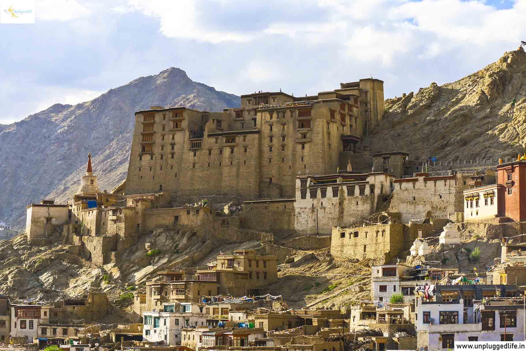 Leh Palace in Ladakh, Leh Market, Top Places in Ladakh, Sightseeing in Leh-Ladakh,