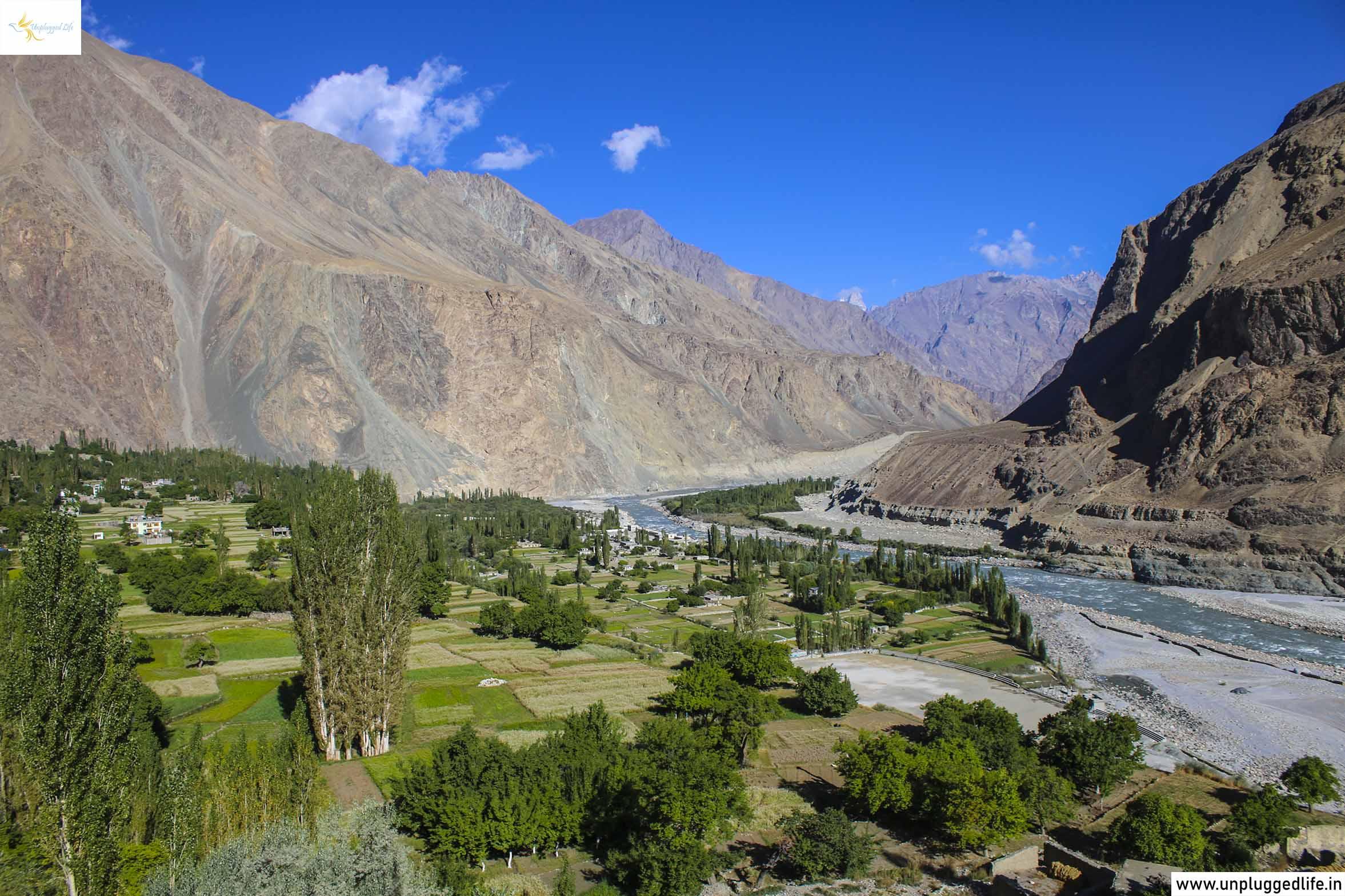 Turtuk Village in Ladakh, Remote Villages in Ladakh, Baltistan, Mountain,