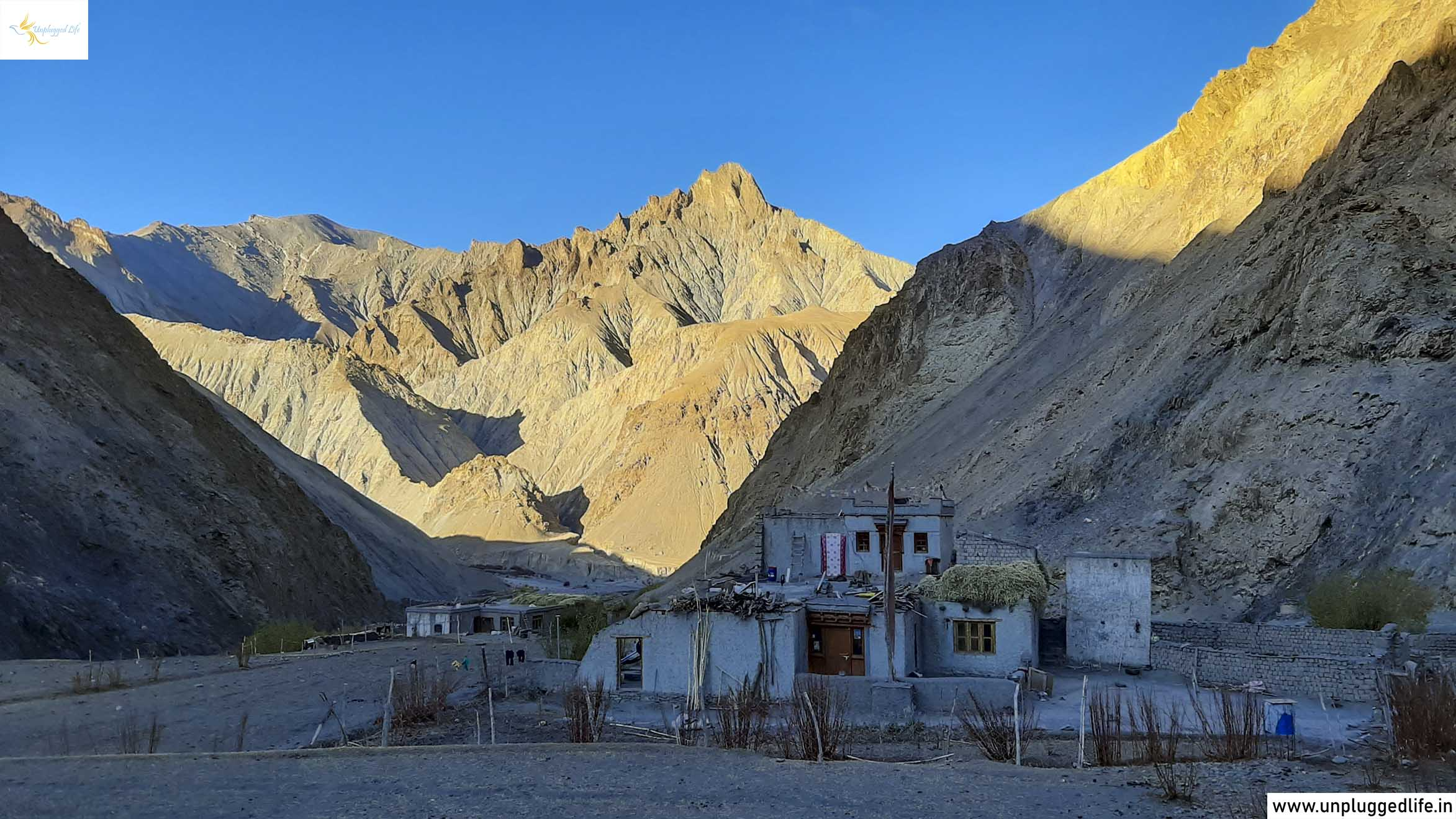 Hankar Village, Markha Valley Trek, Offbeat Villages in Ladakh, Remote Villages in Ladakh, Small Villages in Ladakh, Classic Markha Valley, Markha Valley in Ladakh