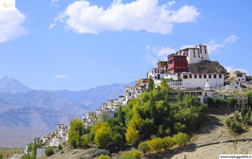 Thiksey Monastery in Ladakh, Monastery in Ladakh, Thiksey